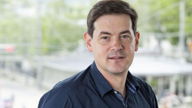 Portrait de Reto Meyer, responsable Écoles & Sport